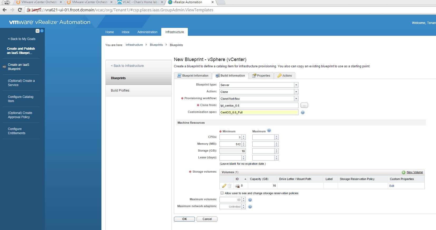 Vmware vrealize automation part 7 tenant administrator basic a full list of available all custom properties are available here and a list of specific custom properties applicable for a cloning blueprint malvernweather