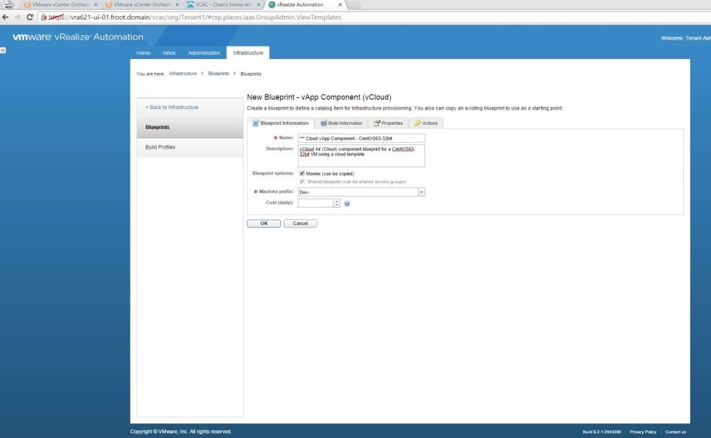 3.1vApp Component blueprint - info