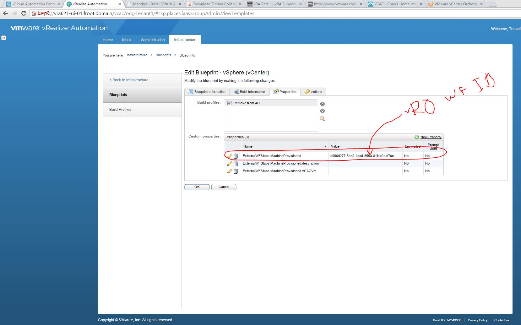 Vmware vrealize automation part 10 iaas extensibility using vro vro workflow id for the workflow youve bound to the blueprint malvernweather Image collections